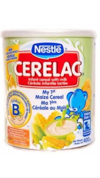 Nestle Cerelac My 1st Maize Cereal 400g