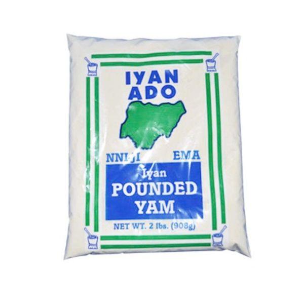 Iyan Ado Pounded Yam 2 lbs