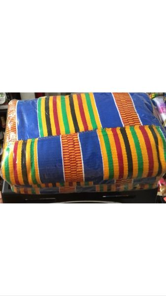 African Kente Cloth 100% Authentic Made in Ghana