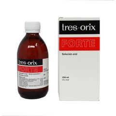 Tres-Orix Forte Oral Solution Vitamin supplement/weight gain 250 ml