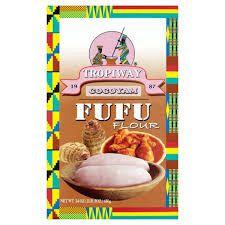 Tropiway Cocoyam FuFu Flour 1 Lbs 8 oz