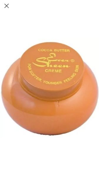 Ever Sheen Cocoa Butter, Cream, Lotion