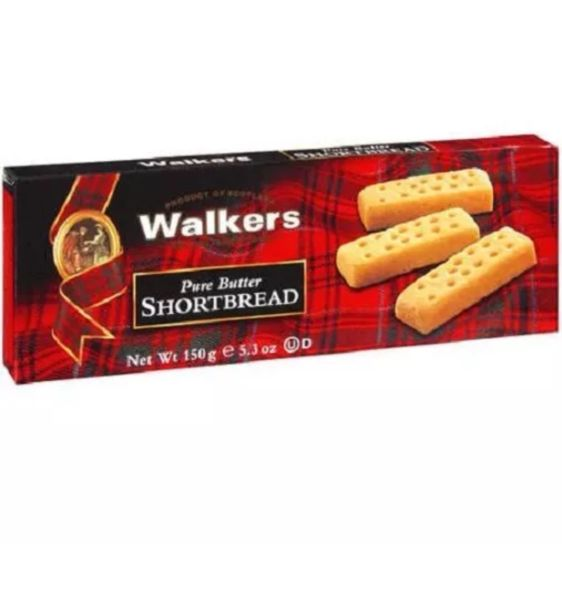 Walkers Pure Butter Shortbread 5.3oz
