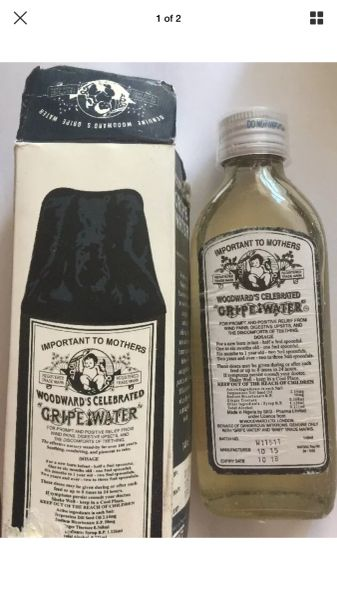 New Woodward's Celebrated Gripe Water 148 ml
