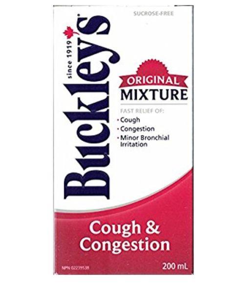 BUCKLEYS Original Mixture : COUGH CONGESTION Syrup 200 ML
