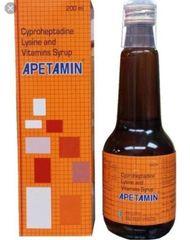Apetamin Vitamin Syrup / Apetite Stimulant 200ml