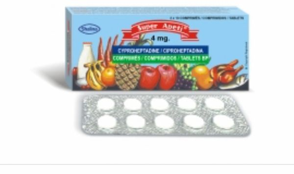 Super Apeti 4mg Tablet ( 20 TABLETS)