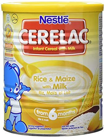 Cerelac Rice & Maize with Milk 400g