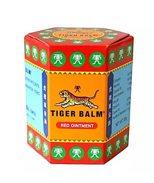 Tiger Balm Red Ointment for arthritis, joint pains and headaches