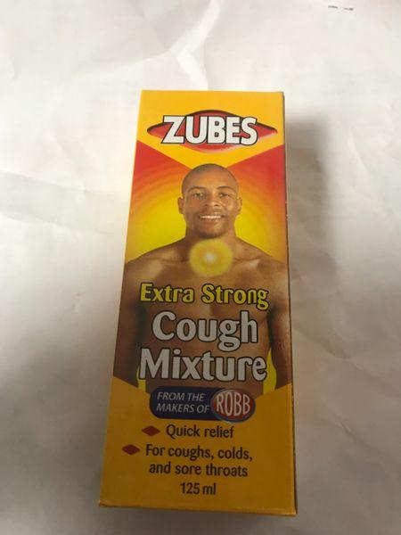 Zubes Extra Strong Cough Mixture 125 ml