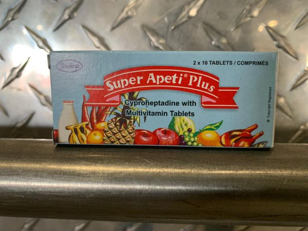 Super Apeti Plus Tablet ( 25 ) half a box