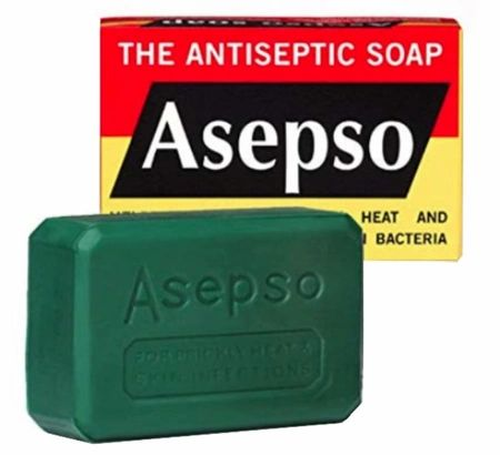Asepso Antibacterial Antiseptic Soap 2.8 oz