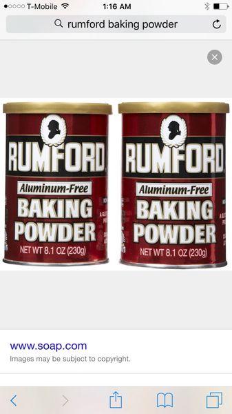 Rumford Baking Soda