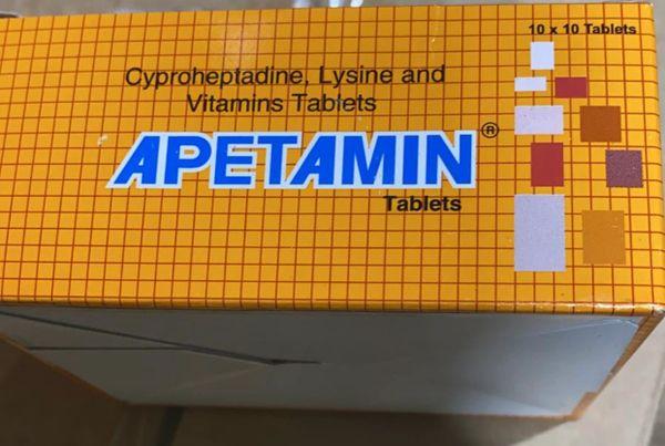 Apetamin tablets