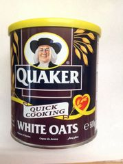 Quaker Quick Cooking White Oats (England) 500g