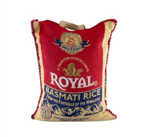 Royal Basmati Rice 20Lbs