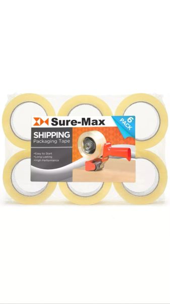 Sure Max 6 packing Tape