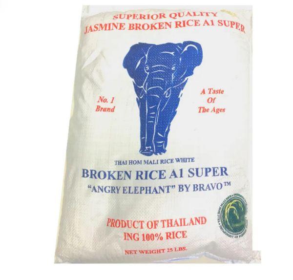 Jasmine Broken Rice 25lbs
