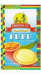 Tropiway Plantain Fufu 1 lb 8 Oz