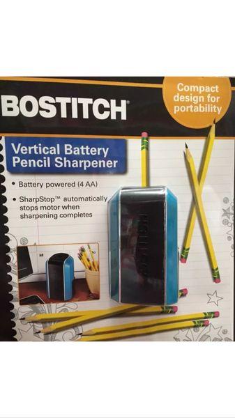 Bostitich Vertical Battery Pencil Sharpener