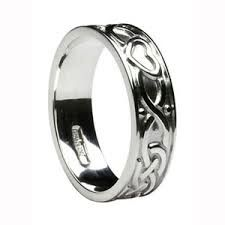 Ring - Celtic Heart - Ladies - Silver - Boru #WED274