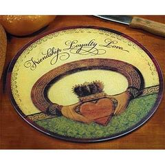 Cutting Board - Round - Claddagh - AP #55445T