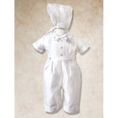 Boy's Suit - Christening / Baptism - White - Size 0-3 mo