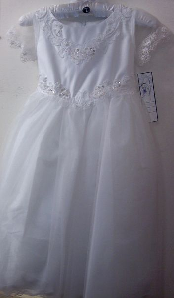 First Communion Dress - Corrine #4850 - Size 7
