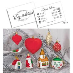 Wedding - Newlywed Ornament Collection