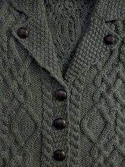 Sweater - Ladies Cardigan - Thundra Color