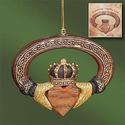 Ornament - Claddagh - AP #55050T