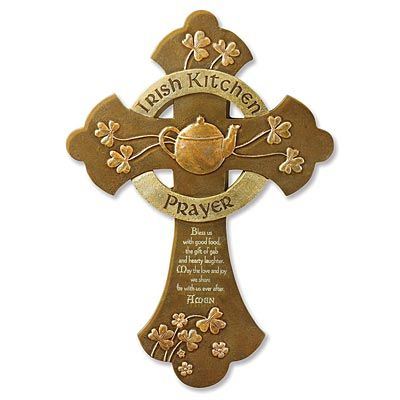 Cross - Irish Kitchen Prayer