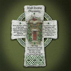 Cross - Irish Home Blessing