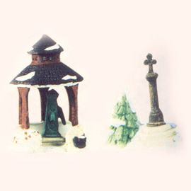 Department 56 - Dickens Village - Village Well and Holy Cross - # 65471
