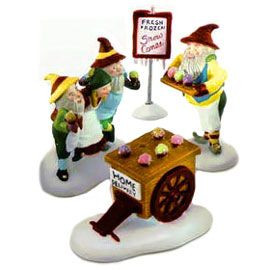 Department 56 - North Pole Village - Snow Cone Elves- # 56375
