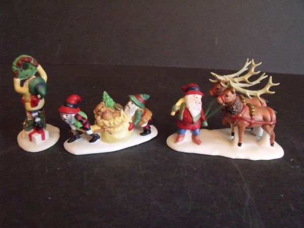 Department 56 - North Pole Village - Santa's Little Helpers- # 56103