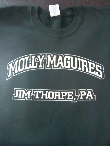 Sweatshirt - Molly Maguires - Jim Thorpe, PA