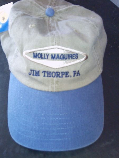 Cap Molly Maguires Jim Thorpe, PA