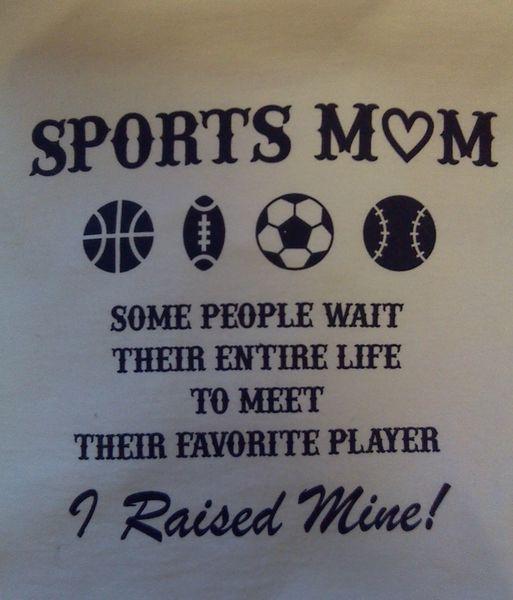 T Shirt - Sports Mom