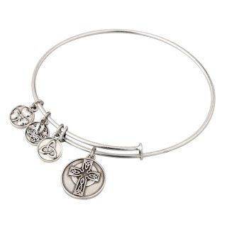 Bracelet - Bangle - Celtic Cross - Solvar #S5786