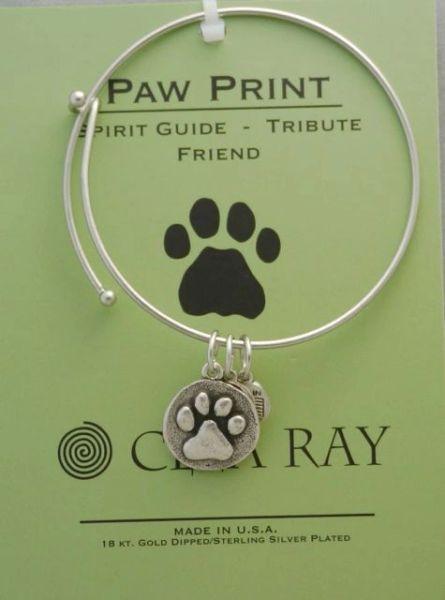 Bracelet - Bangle - Clea Ray - Pawprint