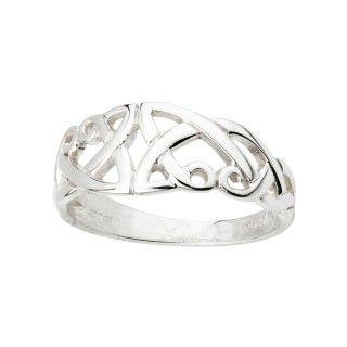 Ring - Celtic - Sterling - Solvar S2409