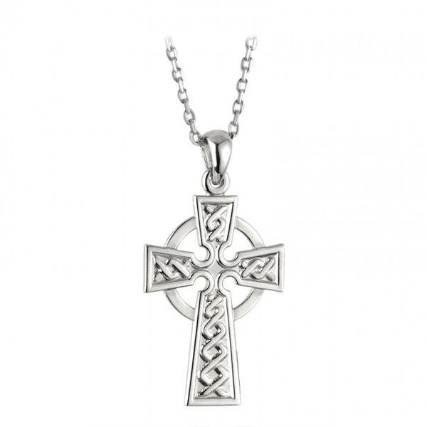 Necklace - Celtic Cross - Sterling - Solvar #S4392