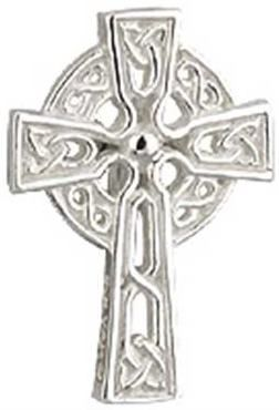 Tie Tac - Celtic Cross - Solvar #S7409