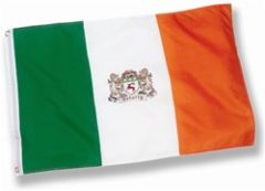 Coat of Arms - Family Crest - Heraldy - Irish 3'x5' Flag