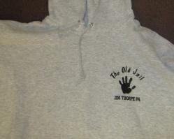 Sweatshirt - Hooded - Hoodie - Old Jail