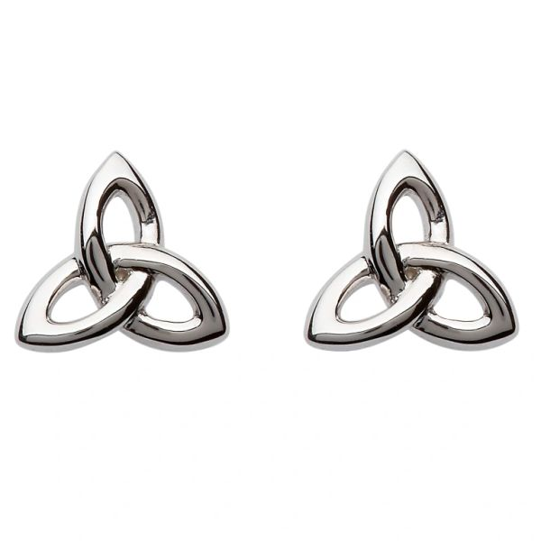 Earrings Trinity Stud Sterling Shanore SE2201 Made in Ireland