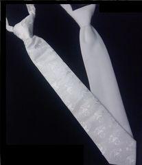 Tie - White - Child - First Communion