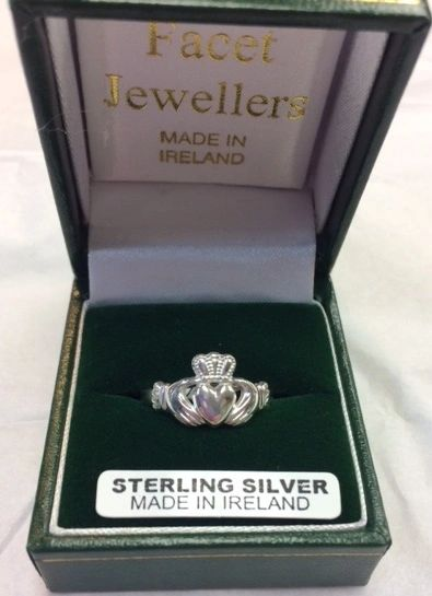 Ring - Claddagh - Facet #S0284
