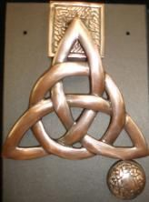 Door Knocker - Trinity - Copper Color